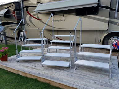 Free Standing Steps Rv Co Rv Steps Amp Decks