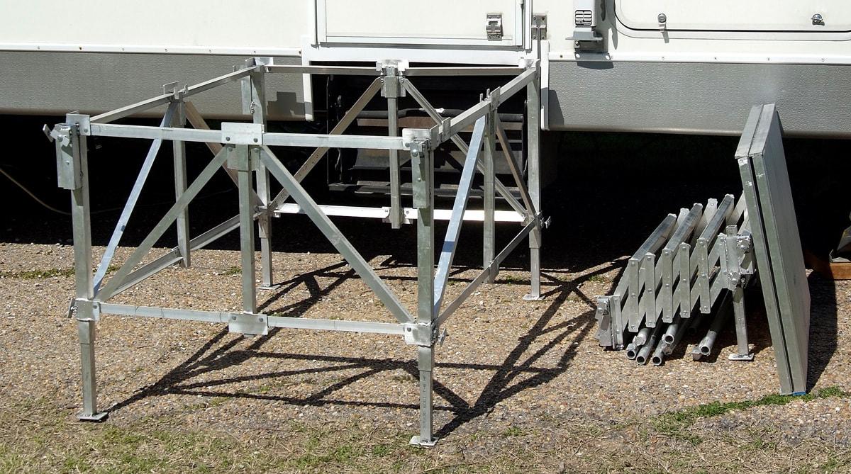 Port A Deck Rv Co Rv Steps Amp Decks